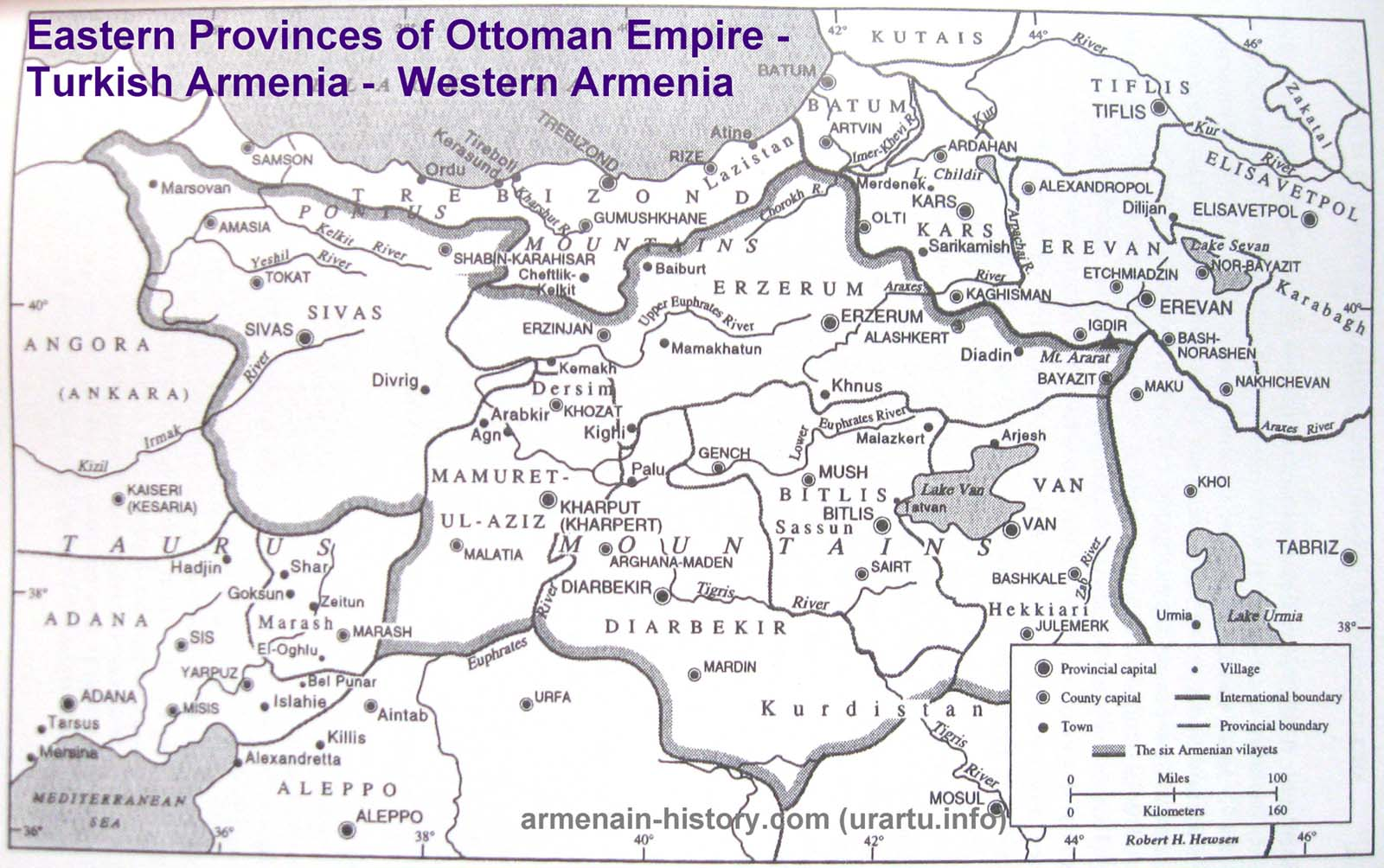 MAPS of ARMENIA - Historical Maps, Ancient Armenia, Medieval Armenia ...