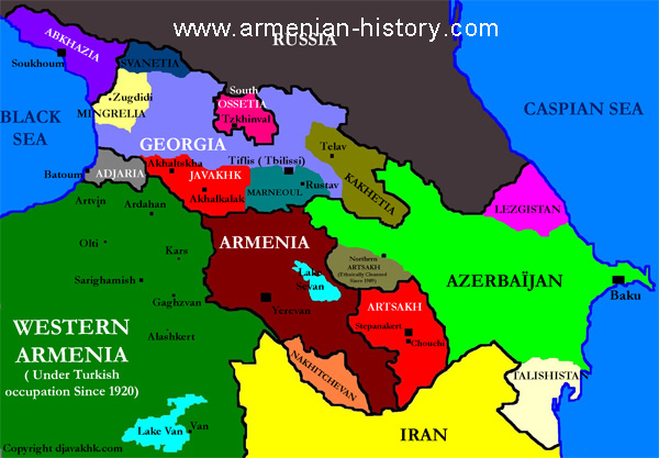 MAPS Of ARMENIA Historical Maps Ancient Armenia Medieval - Armenia map