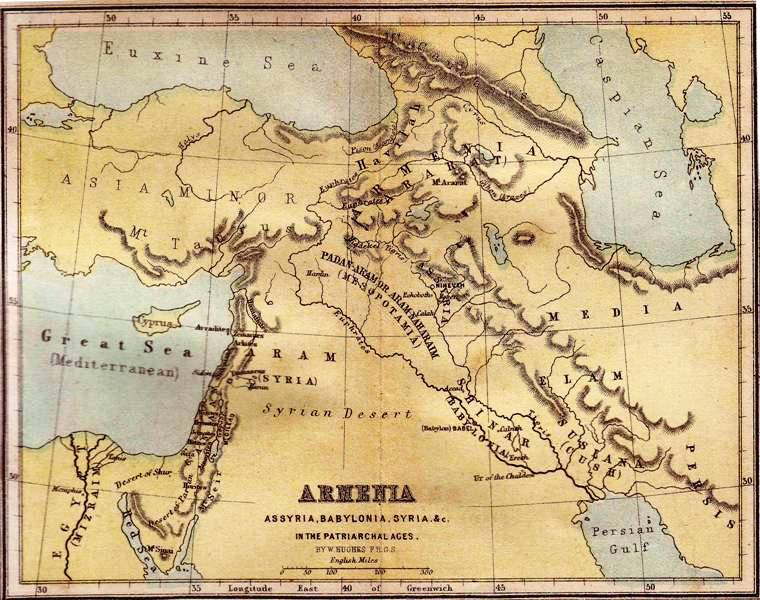 Ancient world maps armenian history ancient world of the bible gumiabroncs Choice Image