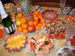 Armenian New Year Table