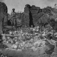 armenians burnt alive in sheykhalan by turkish soldiers 1915