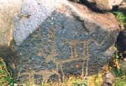 human rock-art